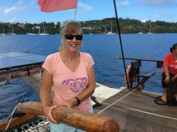 Learning to sail the traditional Vaka