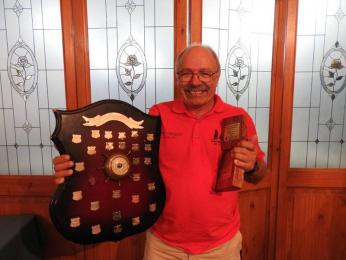Peter Nikitin wins first in handicap and the Masters Trophy for Over 50s in the MK1 (cat rigged) div