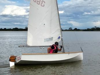 Louise South takes the Eastern Region Regatta challenge
