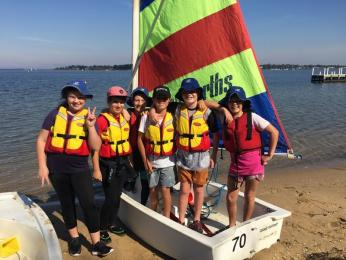 Paynesville Primary School sailors