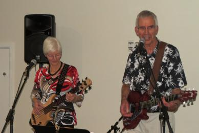 Many thanks to Lyn and Andrew for their music for Celebration Night
