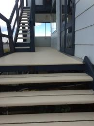 The deck and stairs have already been painted by Warrick, Peter and Jim!