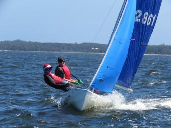 Ethan and Archer aced the non-spinnaker div in Pacer Nationals with a first place